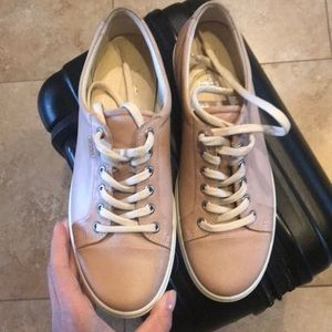 ECCO Womens Soft 7 Pink Sneaker Size 41